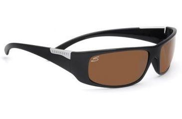Serengeti Fasano Rx Sunglasses Shiny Black Frame