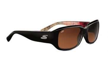 Serengeti Giuliana Progressive Sunglasses, Black Abstract Frame, 7462
