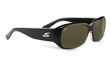 Serengeti Giuliana Rx Sunglasses, Shiny Black Frame, 7503