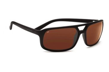 Serengeti Livorno, Satin Black Frame, Drivers Polarized Lens, 7453