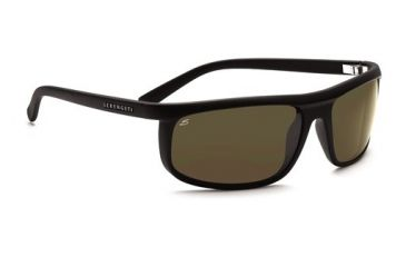 Serengeti Velino, Satin Black Frame, 555nm Polarized Lens, 7468