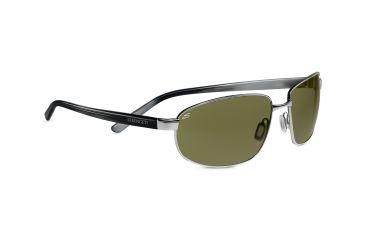Serengeti Sassari Sunglasses - Satin Gunmetal Frame, 555nm Lenses 7669