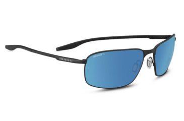 e94b19b80885 Serengeti Varese Progressive Prescription Sunglasses, Satin Black Frame,  Polarized, Photochromic, 8732PR