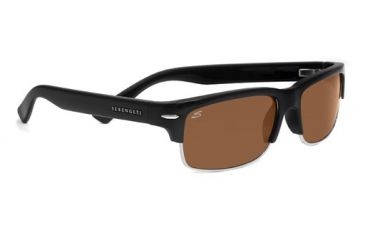 Serengeti Vasio Progressive Rx Sunglasses Shiny Black Frame 7374