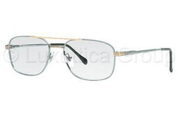 5b23133886 Sferoflex SF2152 SV Prescription Eyeglasses Silver-Gold Frame   56 mm Prescription  Lenses