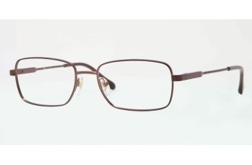 d2bbc7d34a Sferoflex SF2258 Bifocal Prescription Eyeglasses 355-54 - Matte - Dark  Brown Frame