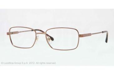 Sferoflex SF2258 Single Vision Prescription Eyeglasses 476-52 - Matte Copper Frame, Demo Lens Lenses