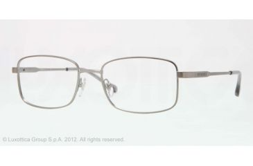 cb6e938383 Sferoflex SF2259 Single Vision Prescription Eyeglasses 231-54 - Matte  Gunmetal Frame