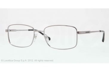 Sferoflex SF2259 Single Vision Prescription Eyeglasses 268-56 - Gunmetal Frame, Demo Lens Lenses