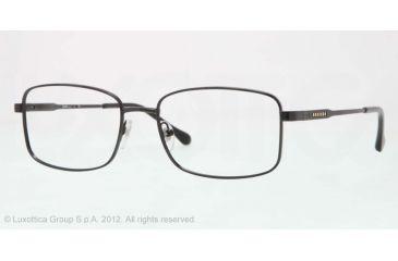 Sferoflex SF2259 Single Vision Prescription Eyeglasses 475-56 - Black Frame, Demo Lens Lenses