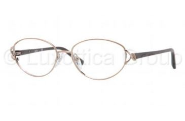 Sferoflex SF2568 Single Vision Prescription Eyeglasses 467-5216 - Shiny Copper Frame