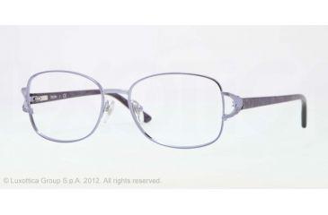 Sferoflex SF2572 Eyeglass Frames 496-52 - Shiny Violet Frame, Demo Lens Lenses