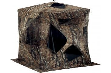 Shooters Ridge Sasquatch Hunting Blind (shown with RealTree AP brown-gray camouflage pattern)
