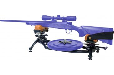 Shooters Ridge Zero Kick Rifle Rest (shown with barbell weight - weights not included.)