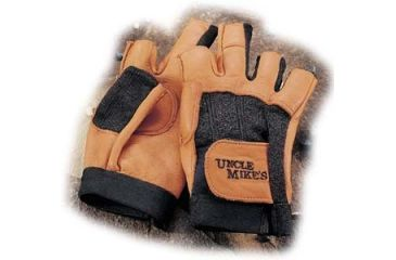 Uncle Mike's Shooting gloves, open finger style