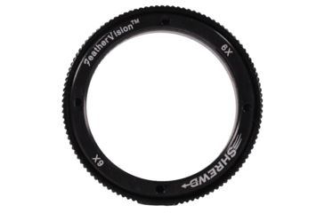 2-Shrewd 6x Lens w/ Housing Verde Vitri