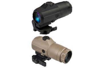 OpticsPlanet Exclusive Sig Sauer Juliet 4 Magnifier, Flat Dark Earth, Small, SOJ41002