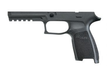 Sig Sauer P250 Grip Module Assembly Black Polymer Full Size Large GRIP250F943LGBL