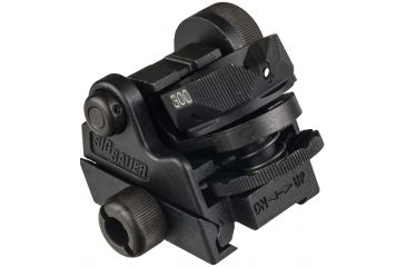 1-Sig Sauer Rotary Diopter Rear Sight