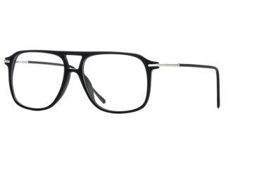 Calligraphy Collections Donaghue SESC DONA00 Single Vision Prescription Eyeglasses - Black SESC DONA005435 BK