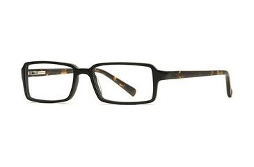 Signature Collections Emerson SESC EMER00 Progressive Prescription Eyeglasses - Black/tort SESC EMER005240 BK