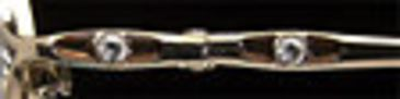Calligraphy Collections Intuition 122 SESC 012200 Eyeglass Frames - Brown Gold SESC 0122005235 BN