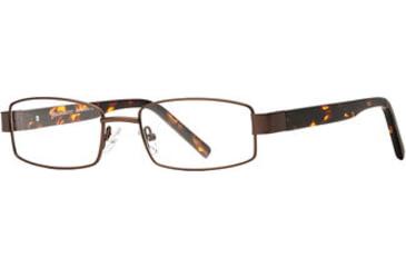 Calligraphy Collections Patterson SESC PATT00 Progressive Prescription Eyeglasses - Brown SESC PATT005445 BN