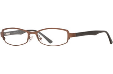 Signature Collections Stowe SESC STOW00 Progressive Prescription Eyeglasses - Dark Brown SESC STOW005335 BND