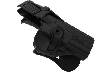 SigTac Retention Roto Paddle Holster, Level 3, SP2022, Black 110094