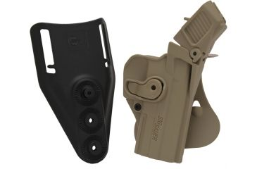 SigTac Retention Roto Paddle Holster, Level 3, SP2022, Flat Dark Earth 110095