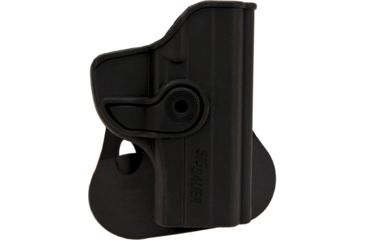 SigTac Retention Roto Paddle Holster, P239 9mm, Black Polymer 110101