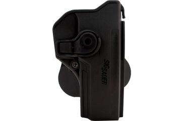 SigTac Retention Roto Paddle Holster, P250 Full Size, All Calibers, Black Polymer 110103