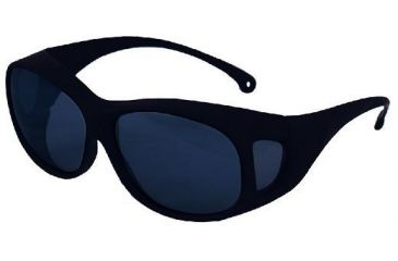 Silencio Safety Glasses w/Black Frame & Smoke Lens 3015023