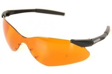 Silencio Shooting/Sporting Glasses w/Black Frame & Orange Lens 3014942