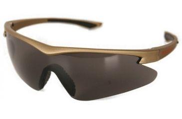 Silencio Shooting/Sporting Glasses w/Olive Frame & Smoke Lens 3014939