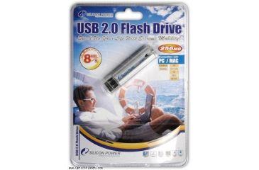 Silicon Power 256 MB USB 2.0 Flash Drive SP256MBUFD2
