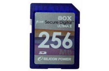 Silicon Power Ultima 80x 256 MB Secure Digital Card SP256MBSDC080V10