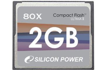 Silicon Power Compact Flash 80X Hi-Speed Memory Card - 512MB / 1GB / 2GB / 4GB