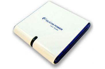 Silicon Power Single Slot Memory Card Readers USB 2.0 - CF, SD/MMC, Memory Stick