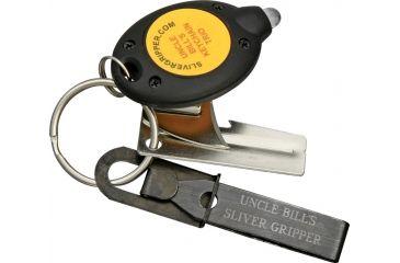 Silver Gripper Keychain Trio, Tweezers SGR138