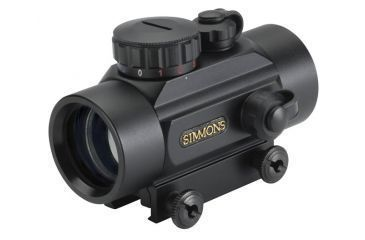 1-Simmons 1x30 Crossbow Scope Red Illumination Matte