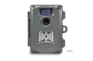 4-Simmons 4MP Whitetail Cam Grey w/Night Vision Trail Camera