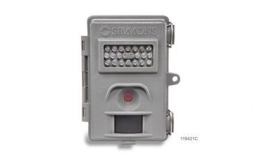 2-Simmons 4MP Whitetail Cam Grey w/Night Vision Trail Camera