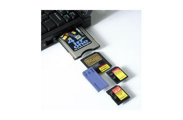 SimpleTech PCMCIA / PC Card 4-1 Adapter for SD MMC Smart Media Memory Stick