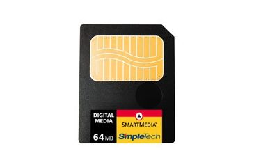 SimpleTech Smart Media (SSFDC) 3V 64MB Card Shipping