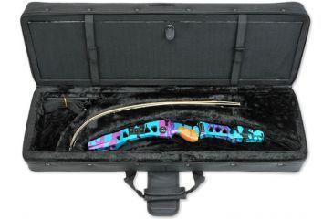 SKB Cases Hybrid 3410 Recurve Bow Case w/ Foam, Black 2SKB-SC3410