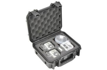 SKB Cases Injection Molded GoPro Camera Case 2 Pack, Black, 3I0907-4-012