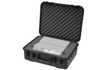 SKB Cases Injection Molded Mil-Std Waterproof Case w/Yamaha DTX-MULTI 12, Black, 3I-2015-YMP