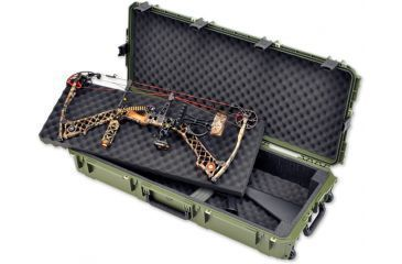 SKB Cases iSeries 4217 Double Rifle Case, Olive Drab, 45 1/2X20X9 3i-4217-DB-M