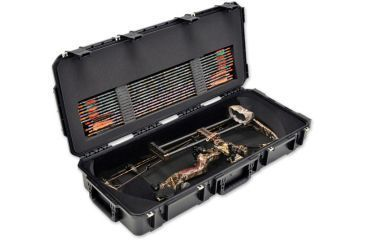 SKB Cases iSeries Parallel Limb Bow Case w/ Foam and Wheels, Black 3i-3614-PL